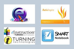 Bildungs-Software für interaktive Tafeln