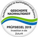 Wittler Zertifikat und Siegel Nachhaltigkeit
