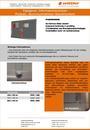 Produktdatenblatt Informationsvitrine Alumoniumrahmen Korkinoleum