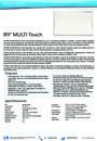 Datenblatt multi touch 89